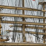 Masts of a ship